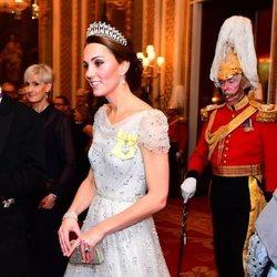 Kate Middleton en la recepción al Cuerpo Diplomático