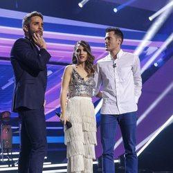 Sabela Ramil recibe la visita de su novio en 'OT 2018'