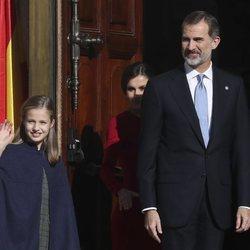 El Rey Felipe y la Princesa Leonor en el 40 aniversario de la Constitución
