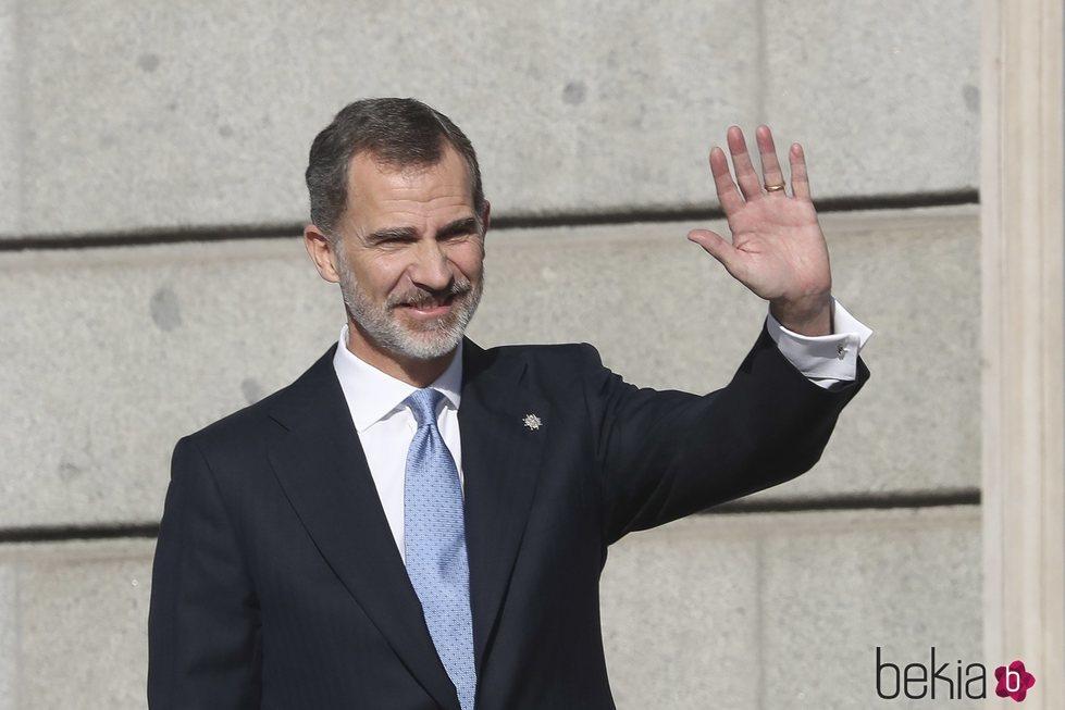 El Rey Felipe en el 40 aniversario de la Constitución