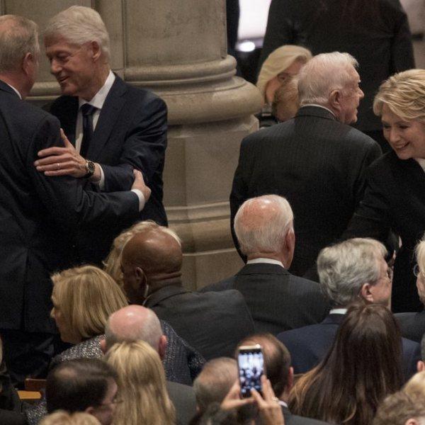 Imágenes del funeral de George W. H. Bush