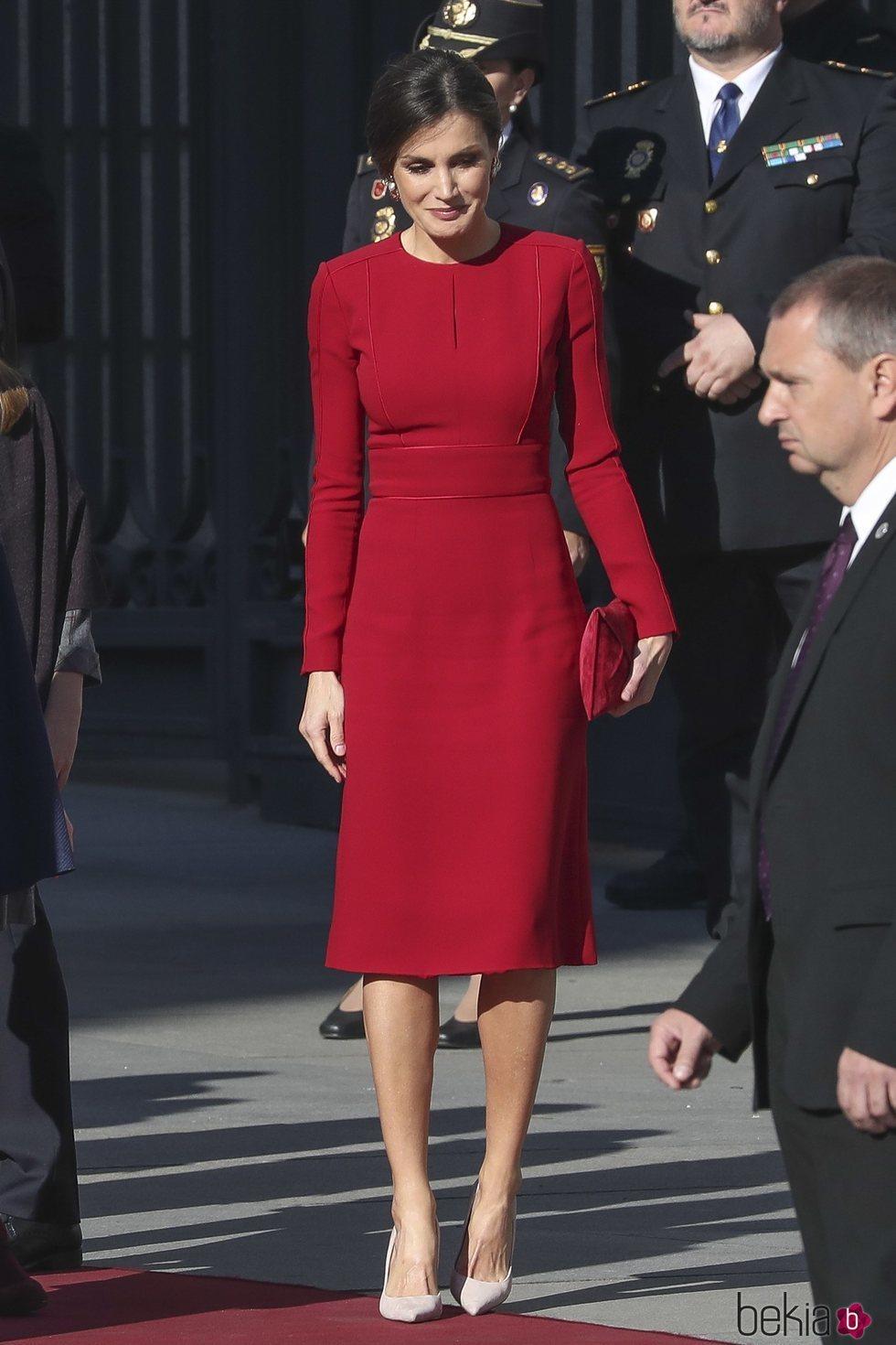 La Reina Letizia en el 40 aniversario de la Constitución