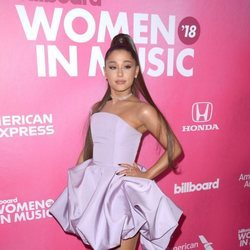 Ariana Grande en los Billboard Women in Music 2018