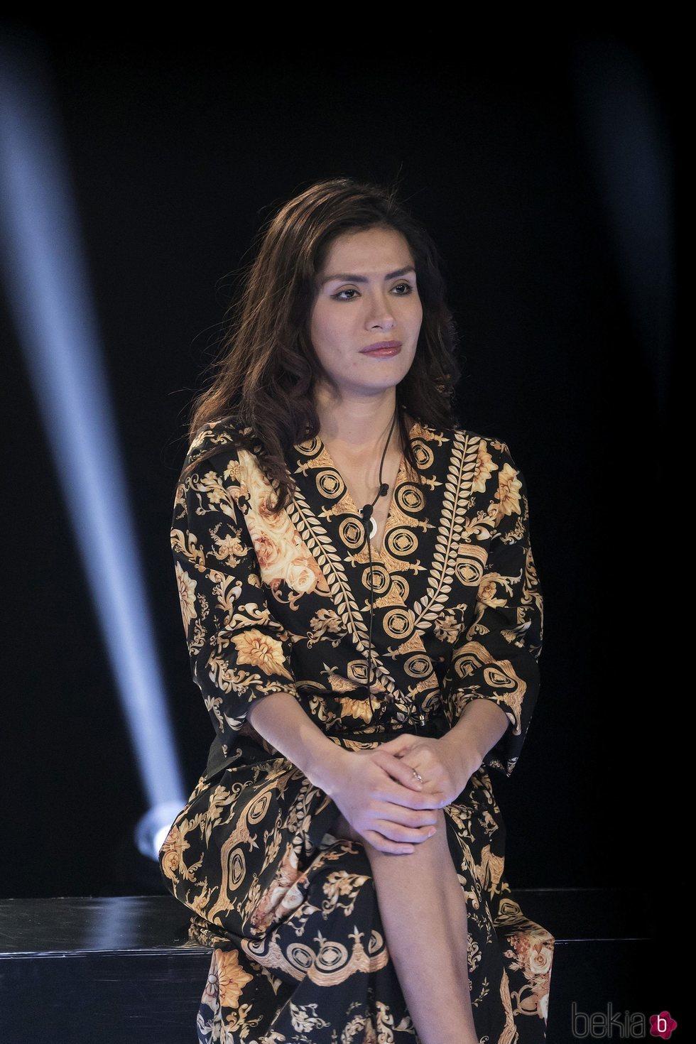 Miriam Saavedra dentro de la casa de 'GH VIP 6' en la gala 13