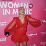 Hayley Kiyoko en los Billboard's Women in Music 2018