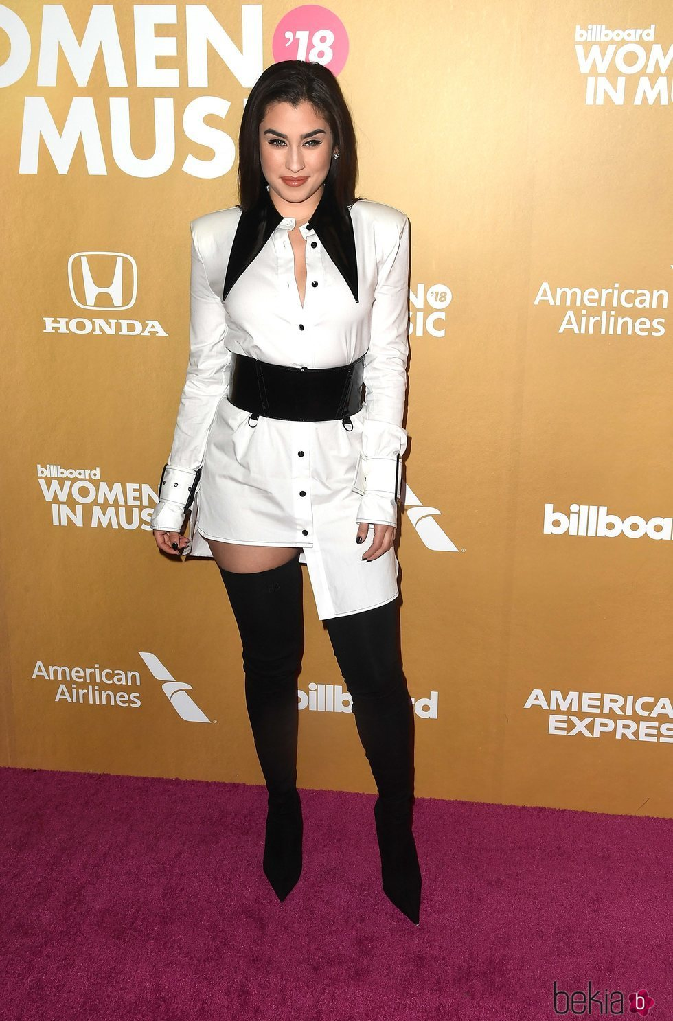 Lauren Jauregui en los Billboard's Women in Music 2018