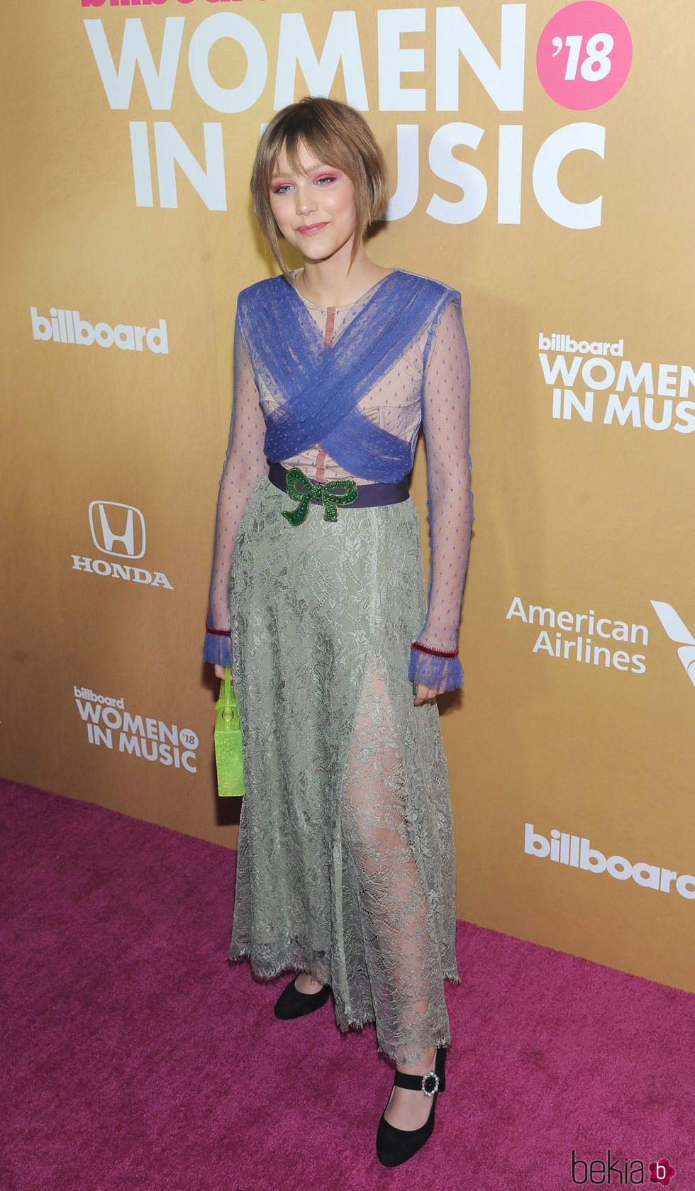 Grace VanderWaal en los Billboard's Women in Music 2018