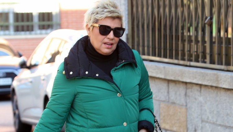 Terelu Campos acudiendo a una nueva revisión médica