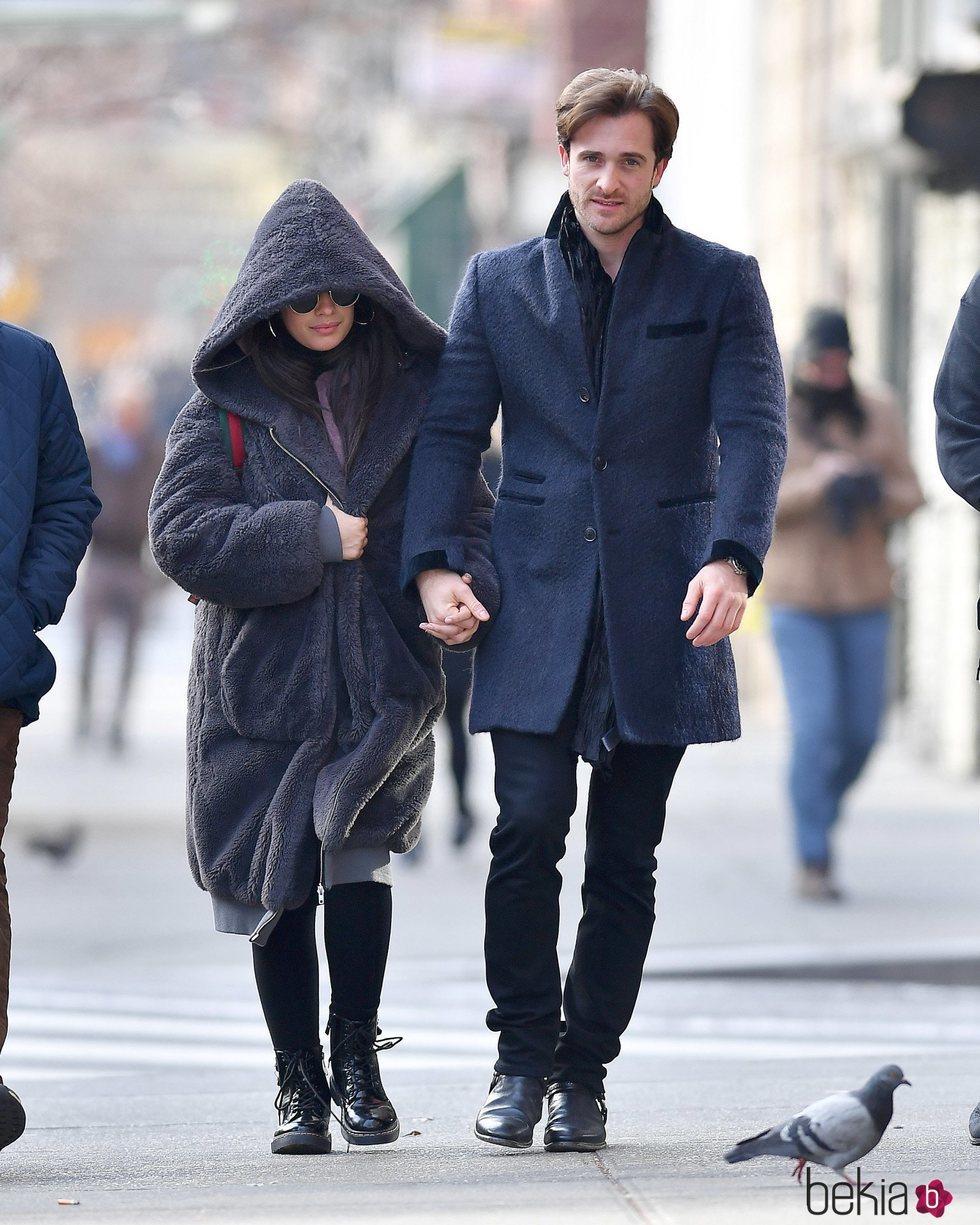 Camila Cabello y Matthew Hussey en NY