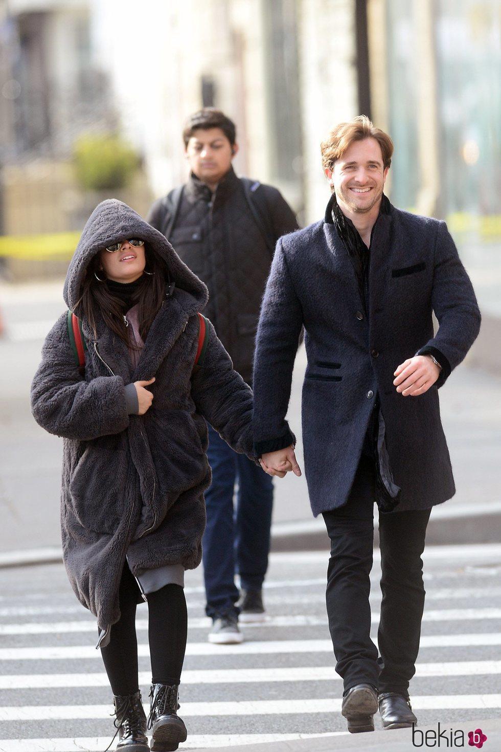 Camila Cabello y Matthew Hussey juntos