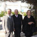 El Duque de Sevilla junto al Conde Rudi y María Luisa de Prusia en el bautizo de Fernando Enrique
