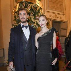 Pierre Casiraghi y Beatrice Borromeo en el Teatro de la Scala de Milán