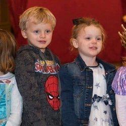 Jacques y Gabriella de Mónaco en su 4 cumpleaños