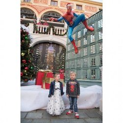 Jacques y Gabriella celebran su 4 cumpleaños con una fiesta de superhéroes