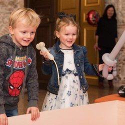Jacques y Gabriella de Mónaco, muy felices en su 4 cumpleaños