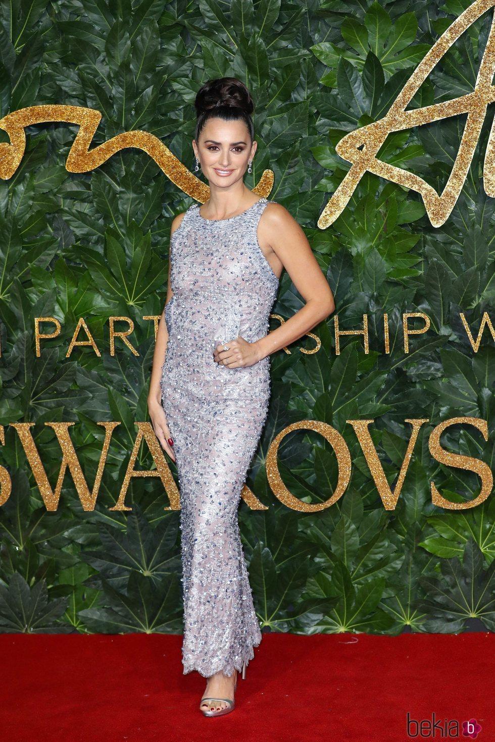Penélope Cruz en los British Fashion Awards 2018