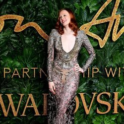 Karen Elson en los British Fashion Awards 2018
