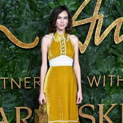 Alexa Chung en los British Fashion Awards 2018