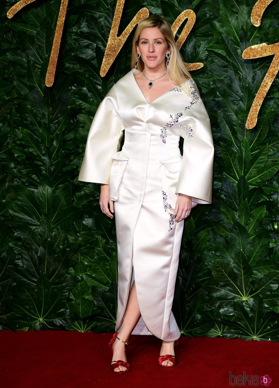 Ellie Goulding en los British Fashion Awards 2018