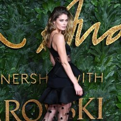 Doutzen Kroes en los British Fashion Awards 2018