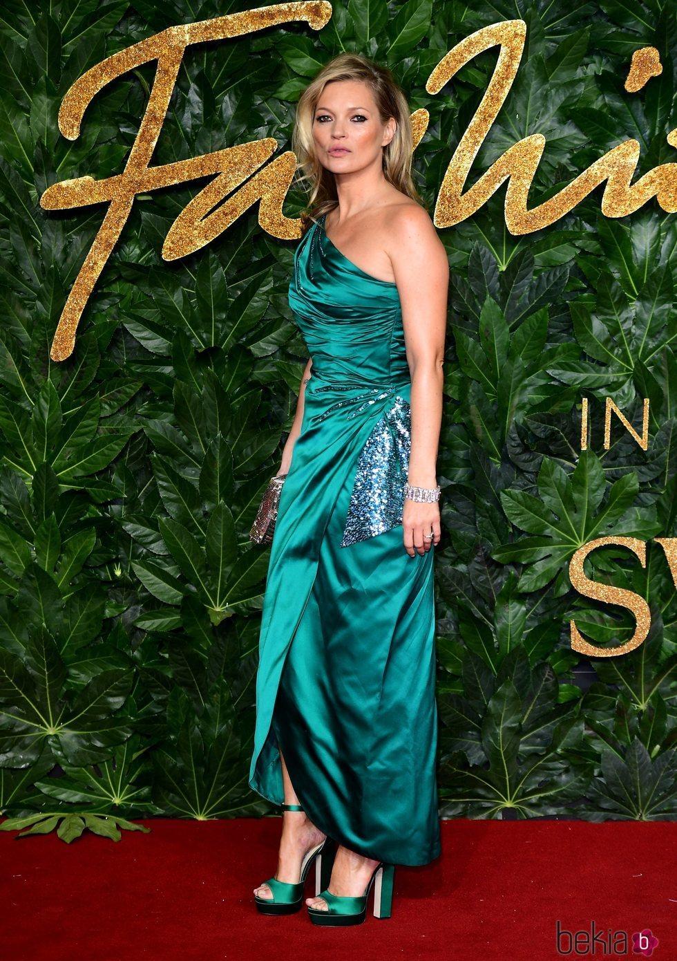 Kate Moss en los British Fashion Awards 2018