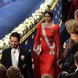Los Príncipes Carlos Felipe y Sofía en los Premios Nobel 2018
