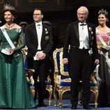 La Familia Real Sueca en la entrega de los Premios Nobel 2018