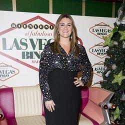 Carlota Corredera en la fiesta de Navidad de 'Sálvame'
