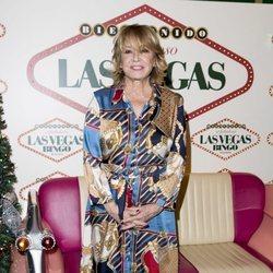 Mila Ximénez en la fiesta de Navidad de 'Sálvame'