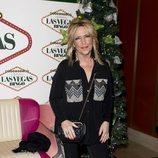 Lydia Lozano en la fiesta de Navidad de 'Sálvame'