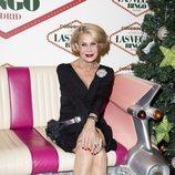Rosa Valenti en la fiesta de Navidad de 'Sálvame'