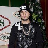 Omar Montes en la fiesta de Navidad de 'Sálvame'
