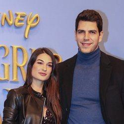 Diego Matamoros y su mujer Estela Grande en el estreno de 'Mary Poppins'