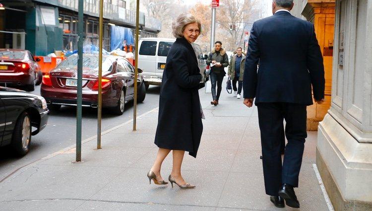 La Reina Sofía en Nueva York para los Premios del Queen Sofia Spanish Institute