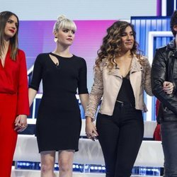 Sabela, Alba Reche, Julia y Miki en gala 12 de 'OT 2018'