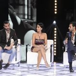 Suso, Aurah Ruiz y Asraf en el cara a cara de la semifinal de 'GHVIP6'