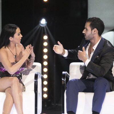Aurah Ruiz y Asraf, cara a cara en la semifinal de 'GHVIP6'