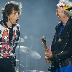 Keith Richards y Mick Jagger