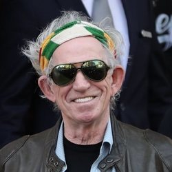 Keith Richards se siente feliz