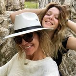 Arancha de Benito y Zayra Gutiérrez posan felices