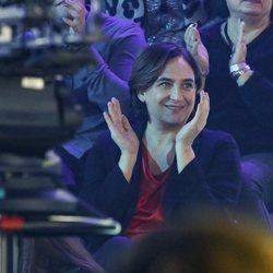 Ada Colau en la gala final de 'OT 2018'