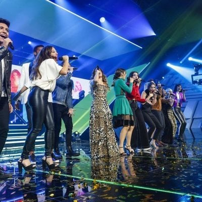 Los concursantes de 'OT 2018' en la gala final