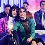 Sabela y Natalia en la gala final de 'OT 2018'