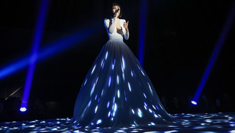 Natalia cantando 'Never enough' en 'OT 2018'