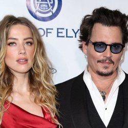 Amber Heard y Johnny Depp como pareja