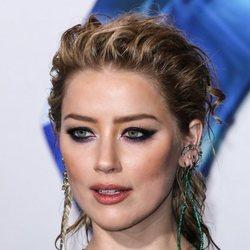 Amber Heard en la premiere de su película