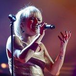 Alba Reche cantando 'Creep' en la gala final de 'OT 2018'