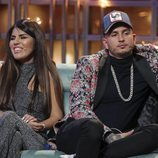 Chabelita Pantoja y Omar Montes durante la gala final de 'GH VIP '
