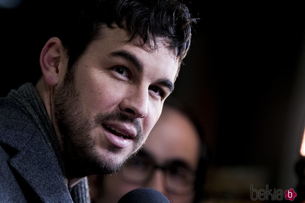 Mario Casas, uno de los invitados al estreno de 'Tiempo después'