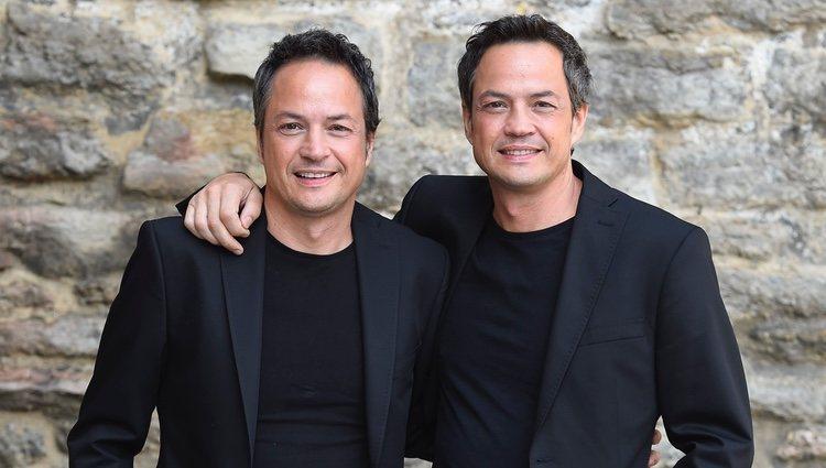 Sergio y Javier Torres presentando su programa